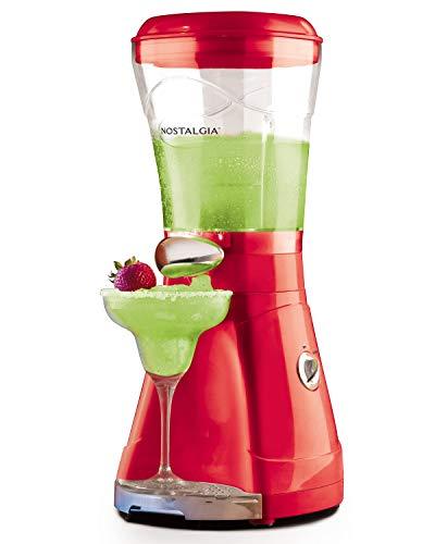 Nostalgia MSB64 64-Ounce Margarita & Slush Maker, Perfect For Slush Drinks, Daiquiris, Red