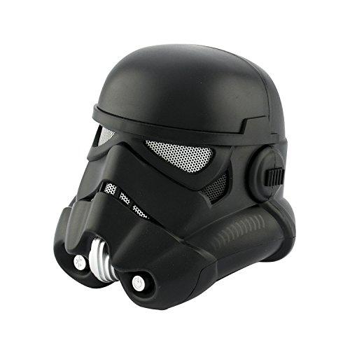 BlueSky Star Wars Shadow Trooper Tropas de Asalto Altavoz Bluetooth Inalámbrico - Negro