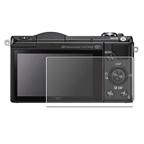 Vaxson 3-Pack TPU Pellicola Protettiva, compatibile con Sony Alpha 5000 α5000 A5000, Screen Protector Film [ Non Vetro Temperato ]