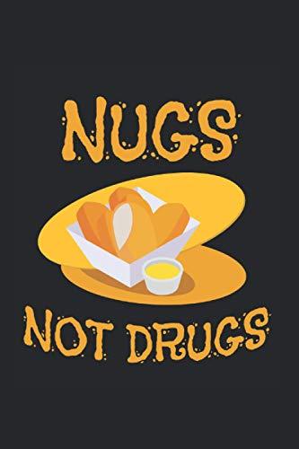 Kalender 2021: Nuggets Drogen Sucht Fast Food Lustiges Geschenk 120 Seiten, 6X9 (Ca. A5), Jahres-, Monats-, Wochen- & Tages-Planer