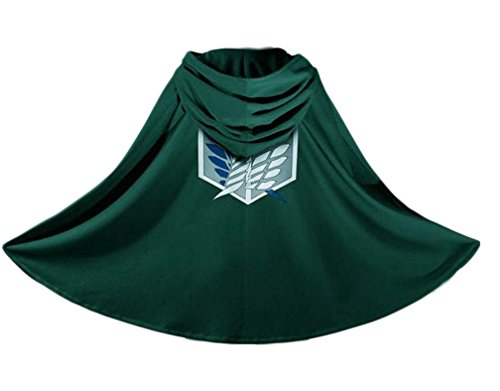Cosplay Costume Attack On Titan Shingeki No Kyojin Cloak Cape Clothes