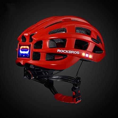 Candyboom ROCKBROS Outdoor Sports Helm mit leichtem Mountainbike-Schutzhelm zum Radfahren Fahrrad Fahren