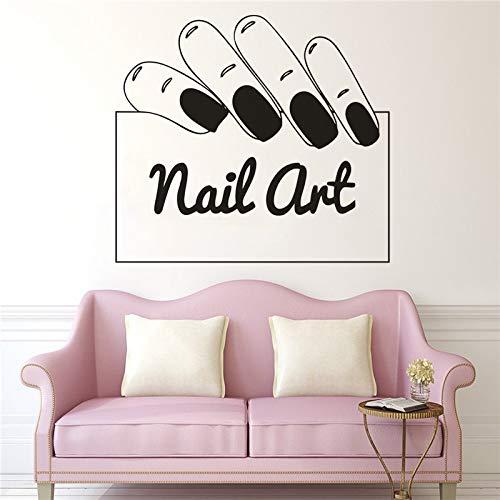 Tianpengyuanshuai vinylstickers voor ramen, zelfklevend, manicure, wandstickers, nail woonkamer, decoratie