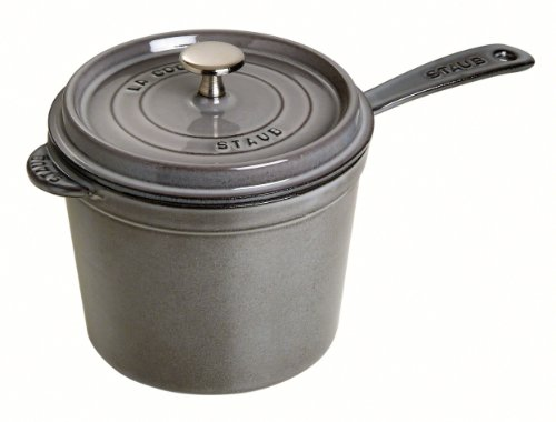 STAUB Sur la Table Minis Mini casseruola, Ghisa, Grigio, 204 x 170 x 355 mm
