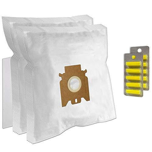 Set 10 Bolsas de aspiradora + 10 Ambientadores + Filtro para Miele Allergy HEPA 400, S 298 / S298, Haus & Co, S 724, Complete C1, S 4711 / S4711, Power 1400, Solution