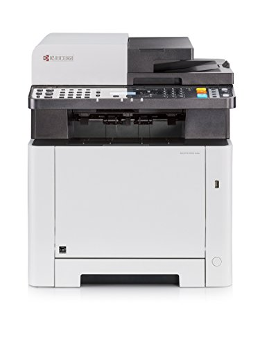 Kyocera Klimaschutz-System Ecosys M5521cdw Farblaser Multifunktionsdrucker. Drucker, Kopierer, Scanner, Faxgerät. Inkl. Mobile-Print-Funktion. Amazon Dash Replenishment-Kompatibel