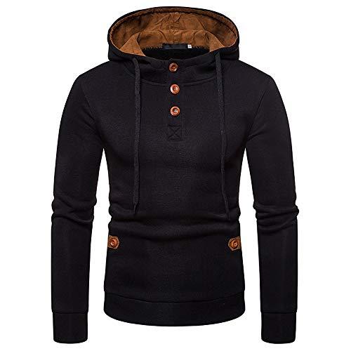 Deelin heren sweatshirt met capuchon van gebreid cardigan mantel jack tops trainingspak