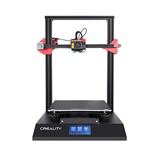 Imprimante 3D D'intérieur, Taille d'impression 300 * 300 * 400mm Axe Z Double Vis ± 0.1mm Matrice Imprimante, 100-240V