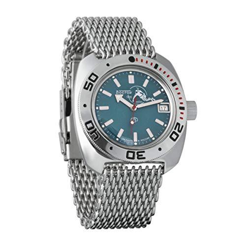Reloj Amphibian, de la marca Vostok, modelo 2416 710059