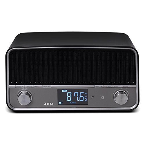 Radio vintage Bluetooth APR500BK negro