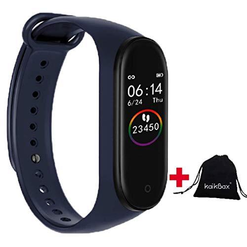 BoBoLing Blue Smart Watch - Fitness Tracker with Heart Rate Monitor - Waterproof Smart Bracelet - Pedometer Smart Wristbands Bracelet for Women Men Kids Best QualityShop