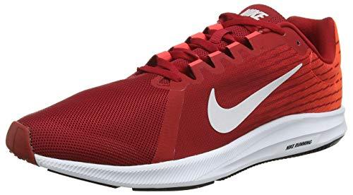 Nike Downshifter 8, Zapatillas de Running para Hombre, Rojo (Gym Red/Vast Grey-Bright Crimson-Black 601), 40 EU