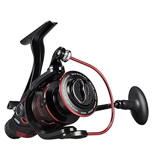 HZPXSB Carrete de Pesca de Carpa de 12 kg de Arrastre con Espacio Extra Delantero y Trasero Sistema de Arrastre de Agua Dulce Spinning Reel (Spool Capacity : 4000 Series)