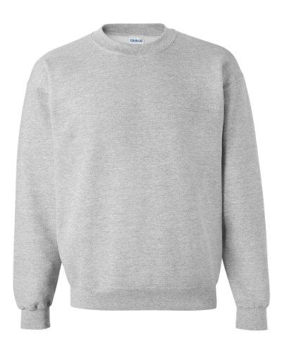 Gildan Herren Sweatshirt, Sport Grey, XXL
