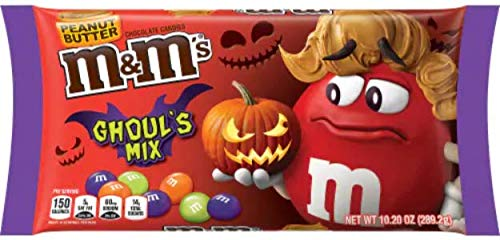 Halloween M&M's Ghoul's Mix Candy