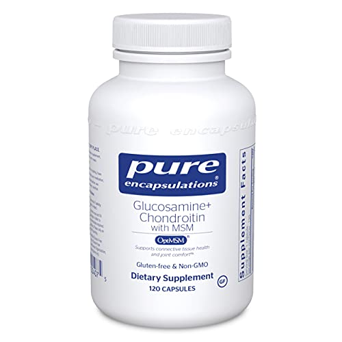 Pure Encapsulations Glucosamine Chondroitin with MSM   Supplement to Support Cartilage, Connective Tissue, and Joint Health*   120 Capsules