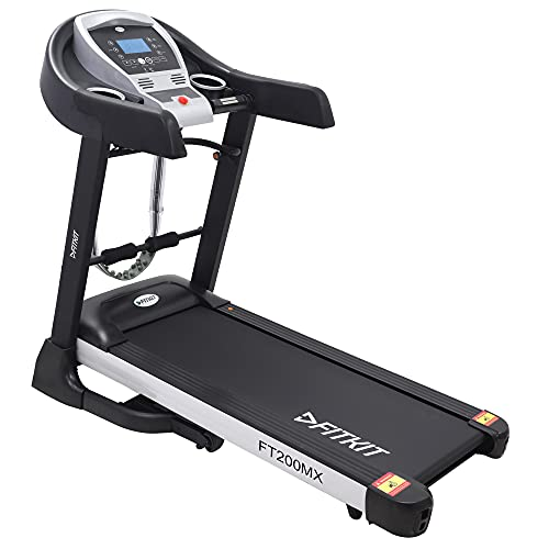 Fitkit FT200MX 2.25HP (4.5HP Peak) Motorized Treadmill With Free Installation and Free Diet & Fitness Plan