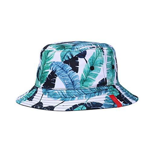 BESTOYARD Sombrero de Cubo Reversible de Doble Cara Sombreros de Pescador Impresos en 3D Gorros de Primavera de Verano Sombrero Casual para Hombres y Mujeres...