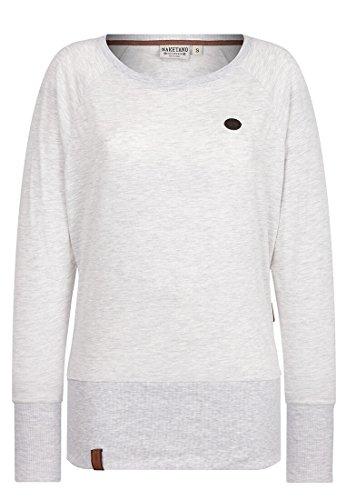 Naketano Groupie Women's Sweatshirt Amazing Grey Melange, S