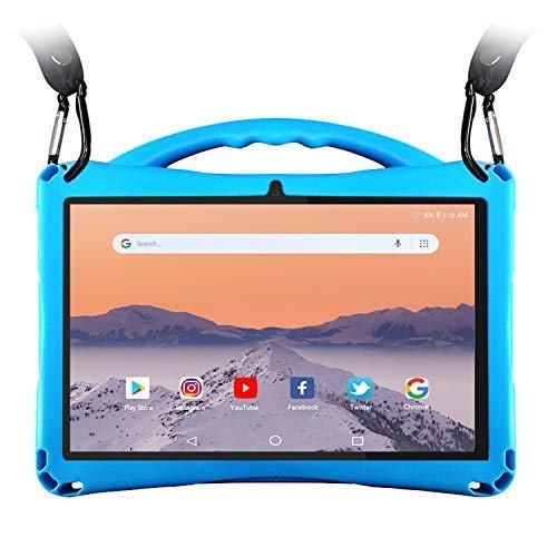 Tablet Case for 10 inch, Anti-Slip Soft Silicone Case,Compatible with ZONKO All 10 inch Tablet, WECOOL 10.1, Winsing 10, Lectrus 10, Hoozo 10, Victbing 10, CHENEN 10, FLYINGTECH 10, BeyondTab 10.1