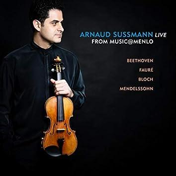 Arnaud Sussmann Live