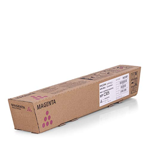 Ricoh Original 841596 / TYPEMPC305E, für Aficio MP C 305 SPF Premium Drucker-Kartusche, Magenta, 4000 Seiten