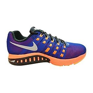 Nike Air Zoom Structure 19 Flash, Zapatillas de Running para Hombre, Azul/Naranja / Plata/Negro (DP Ryl Bl/Rflct Slvr-Ttl Crmsn), 45 EU