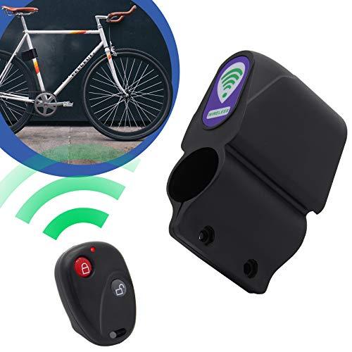 Adaptador-Universe Alarman Vibración Alarma Sirena con mando a distancia para bicicleta Motocicleta