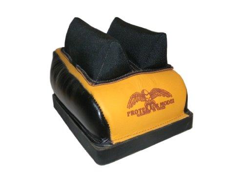Protektor Model Dr. Bag with Mid. Cordura Ear T.S. Between Ears Rear Benchrest Bag, 1/2-Inch
