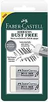 Borracha Branca, Faber-Castell, Dust Free, SM/187137, 2 Unidades