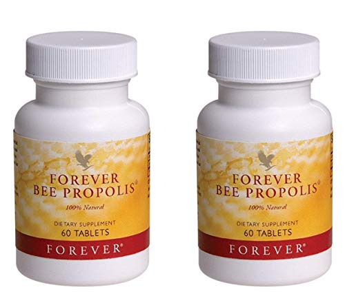 Forever Bee Propolis, Pack of 2 (120 Tablets)