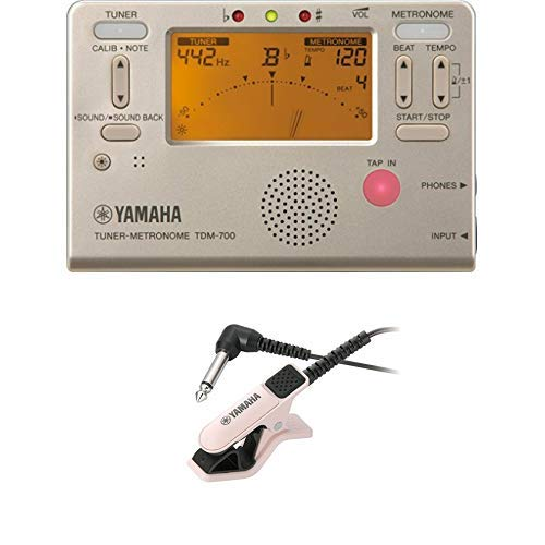 Yamaha TDM-700G Tuner Metronome TM-30PK Microphone for Tuner
