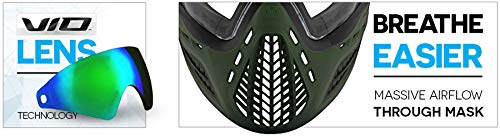 Product Image 5: Virtue VIO Ascend AF Paintball Mask/Goggle with Anti-Fog Lens – Black