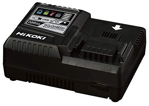 HiKOKI(ハイコーキ) 旧日立工機 急速充電器 スライド式リチウムイオン電池14.4V~18V対応 USB充電端子付 超急速充電 UC18YDL