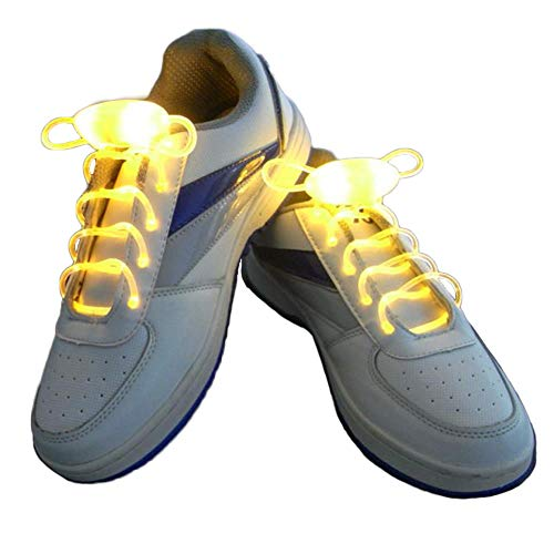 2 Paar Neuheit Leuchtende Schnürsenkel Light Up Schuhband Glühend Led Schnürsenkel