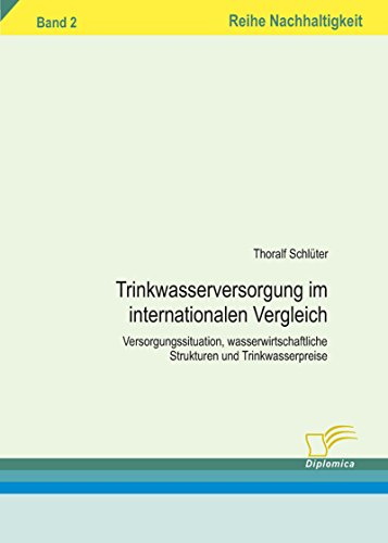 Trinkwasserversorgung im internationalen Vergleich (Reihe Nachhaltigkeit)