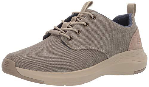 Skechers Slip Parson Canvas ON Zapatos para hombre, beige (Khk.), 45.5 EU