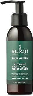 Sukin Super Greens Nutrient Rich Facial Moisturiser, 125ml