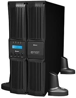 DELTA RT-Series Online 10000VA/9000W Tower/Rack(2U) LCD Power Module(no Battery-ADD GES201B109700), Include Mini SNMP Card, 3Y AR Warranty (Include Battery)