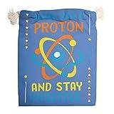 6pcs Think Like Proton Canvas Organizating Bags Bolsas Transpirables Bolsa Bolsa Bolsa Bolsas Para Regalo de San Valentín Cumpleaños Bolsas - Always Positive Candy Bag, blanco (Blanco) - XHJQ88-STB