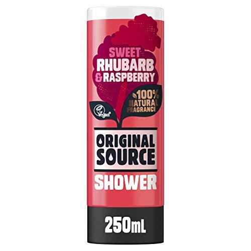 Original Source Duschgel Rhabarber und Himbeere, 250 ml