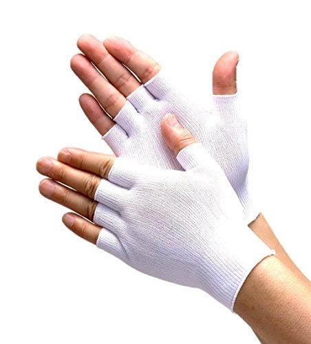 (株)プロディスク クリーンインナー手袋(指なし)PR5610 (1)