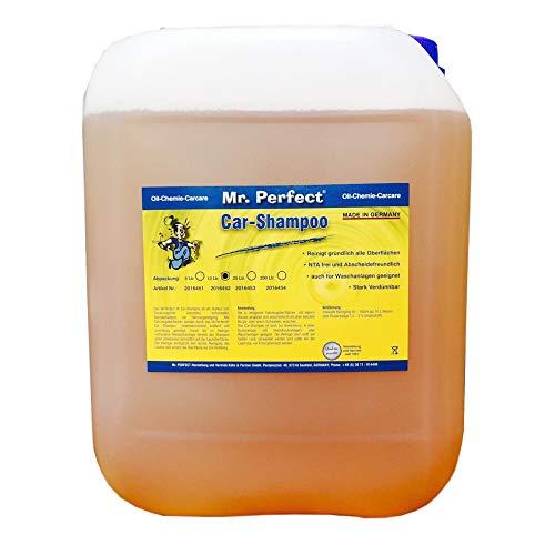 Mr. Perfect® Autoshampoo, 10L - Konzentrat für Fahrzeug-Reinigung mit Abperleffekt