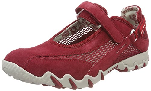 Allrounder by Mephisto NIRO Outdoor Fitnessschuhe Damen, Rot (RED/RED), 39.5 EU
