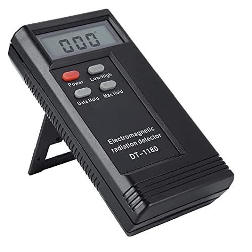 Detector de radiación electromagnética DT-1180 Probador de radiación de frecuencia dual (sin batería) Almacenamiento preciso