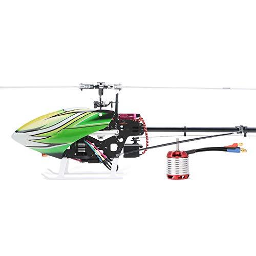 Modelo Remoto Helicóptero Combustible Súper Grande Gasolina Eléctrico Avión 3D Control De Vuelo De Helicóptero Punto De Autoestabilización Truco Seis Canales,Verde