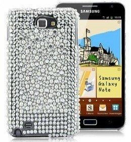Terminal perles de coquillage coquille coquille protectrice de couverture de caisse Samsung Galaxy Note femmes chic et élégant femme fille Phone Case brillant