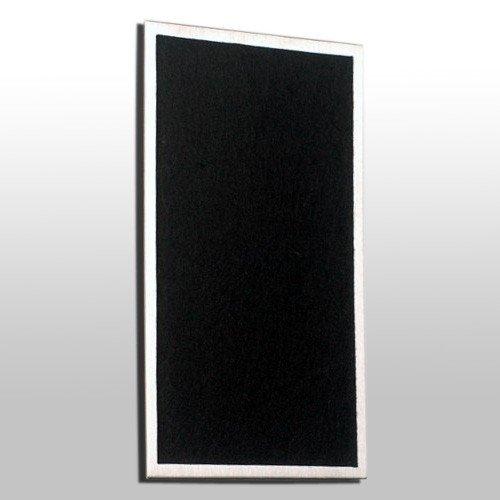 Le panneau à clés magnétique, acier inoxydable brossé V2A 25 cm x 15 cm, 1 pièce, Farben:grau;Größen:42cm x 12cm