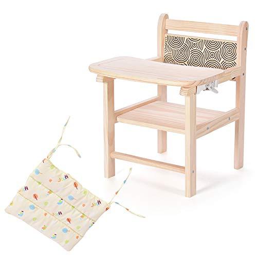 ZCFXGHH Baby Draagbare Eettafel, Kinderopklapbare kinderstoel, Baby Multifunctionele Eetstoel, Kinderhouten Eettafel