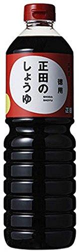 正田醤油 正田のしょうゆ 徳用 1L [8418]
